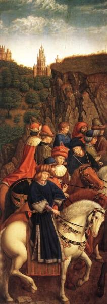 The Ghent Altarpiece The Just Judges